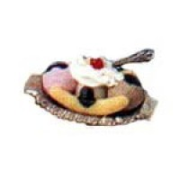 § Sale .70¢ Off - Dollhouse Banana Split - Product Image
