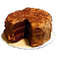 Dollhouse Sliced German Chocolate Cake - Product Image