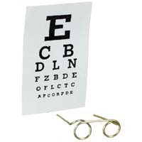§ Sale .40¢ Off - Dollhouse Eye Test Set - Product Image