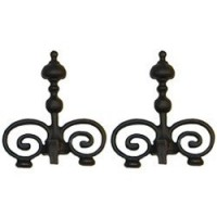 Dollhouse Victorian Andirons - Product Image