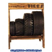 Dollhouse Tire Rack - Product Image