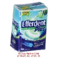 (*) Dollhouse Efferdent Box - Product Image