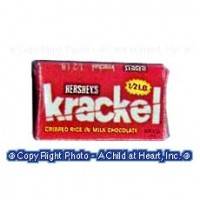 § Disc .30¢ Off - Dollhouse Krackel Candy Bar - Product Image