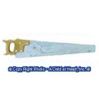 Sale - Small Carpenter's Saw - Product Image