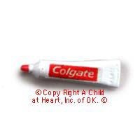 (§) Disc .80¢ Off - Dollhouse Colgate Tooth Paste (Tube) - Product Image