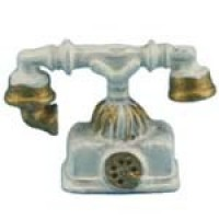 § Sale - Dollhouse French Table Phone - Product Image