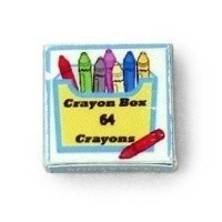 Dollhouse Crayon Box - Product Image