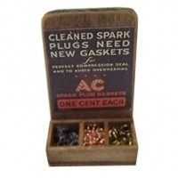 Dollhouse Spark Plug Gasket Display - Product Image