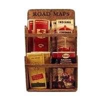 Dollhouse Map Display - Product Image