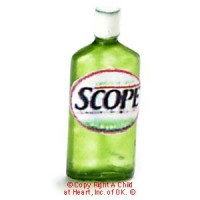 § Sale .40¢ Off - Dollhouse Scope Mouth Wash Bottle - Product Image