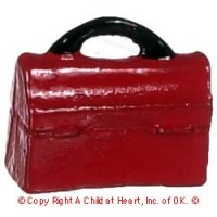 § Disc .40¢ Off - Dollhouse School Lunch Box - Product Image