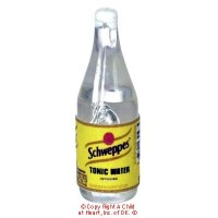 § Disc. $1 Off - Dollhouse Tonic Water Bottle - Product Image