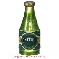 Disc. $1 Off - Dollhouse Bottle of Perrier Water - Product Image