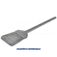 (**) Unfinished Metal Kitchen Broom - Product Image