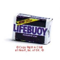 § Disc .70¢ Off - Dollhouse Lifebuoy Soap Box - Product Image