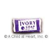 § Sale .60¢ Off - Dollhouse Ivory Soap Box - Product Image