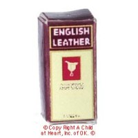 (§) Disc .60¢ Off - Dollhouse English Leather Cologne Box - Product Image