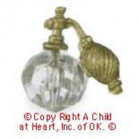 § Sale .30¢ Off - Dollhouse Perfume Bottle w/Atomizer - Product Image