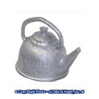 (**) Unfinished Colonial Tea Kettle - Product Image