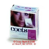 § Disc .70¢ Off - Dollhouse Coets Makeup Pads - Product Image
