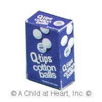 § Disc .50¢ Off - Dollhouse Cotton Box - Product Image