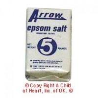 Dollhouse Box of Epson Salts - Product Image