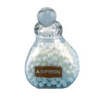 (§) Disc. $2 Off - Large Dollhouse Bottle of Asprin - Product Image