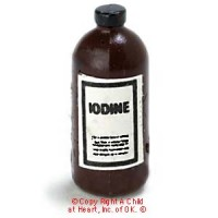 (§) Sale .20¢ Off - Dollhouse Iodine Bottle - Product Image