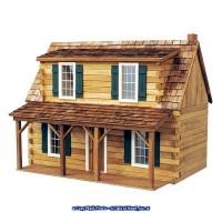 Adirondack Cabin Dollhouse ''Kit'' - Product Image
