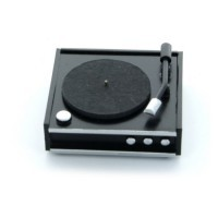 Dollhouse Retro Turntable - Product Image