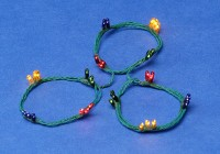 48 Bulb Color Christmas String - Product Image