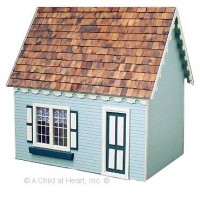 Light Keeper Cottage Dollhouse (Kit) - Product Image