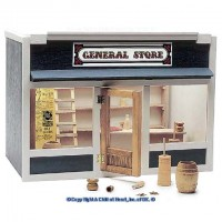 (§) Closeout $10 Off - General Store Dollhouse (Kit) - Product Image