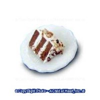 Single Slice of White Torte - Product Image