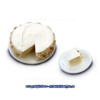 Dollhouse Cheese Cake with Slice - Product Image