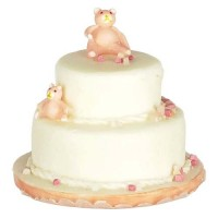 Dollhouse 2 Tier Bear Cake - Product Image
