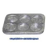 Dollhouse Heavy Metal Muffin Pan - Product Image