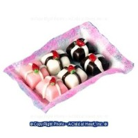 ? Sale $1 Off - Dollhouse Tray Assorted Petit Fours - Product Image