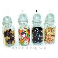 § Sale .60¢ Off - Dollhouse Filled Cookie Jars - Product Image