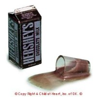 § Disc .60¢ Off - Spilled Chocolate Milk & Carton or Bottle - Product Image