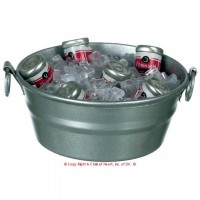 (**) Dollhouse Tub of Ice & Canned Drinks - Product Image