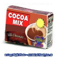 § Sale .50¢ Off - Dollhouse Hot Cocoa Mix Box - Product Image