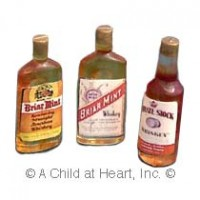 (§) Sale .70¢ Off - Set of 3 Vintage Whiskey Set - Product Image
