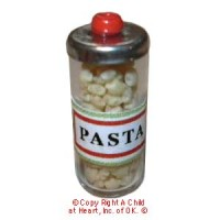 § Sale .60¢ Off - Dollhouse Jar of Pasta - Product Image