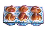 Dollhouse Cloverleaf Rolls in Pan - Product Image