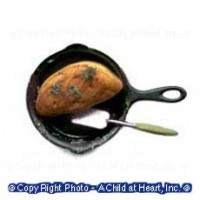 (§) Sale .60¢ Off - Dollhouse Omelet Cooking Set - Product Image