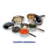 Dollhouse Filled Pot Set - Product Image