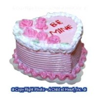 Dollhouse Valentine Heart Cake - Product Image