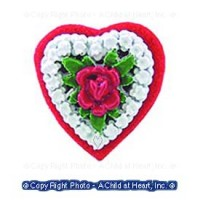 Dollhouse Valentine Heart Candy Box - Product Image