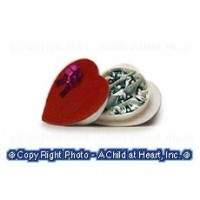(§) Sale .40¢ Off - Candy Filled Heart - Product Image